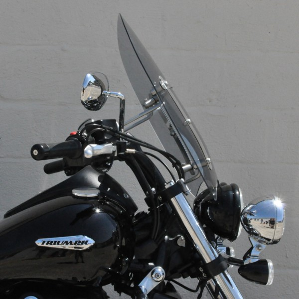 Triumph Thunderbird Storm 1700 Custom Cruiser Screen Clear Or Light